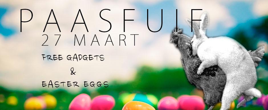 PAASFUIF! eitjes … eitjes … eitjes !!!