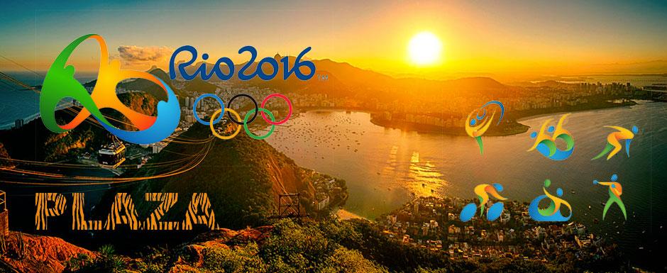 Olympische spelen alle dagen live @Plaza