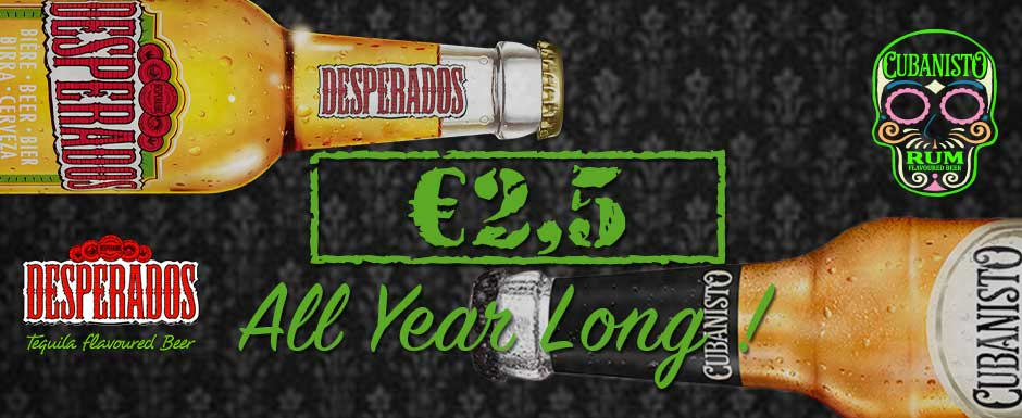 Desperados -VS- Cubanisto