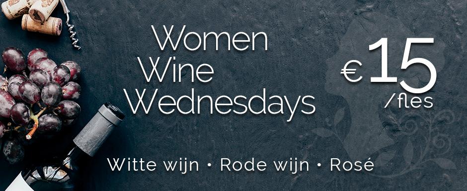 Women Wine Wednesdays