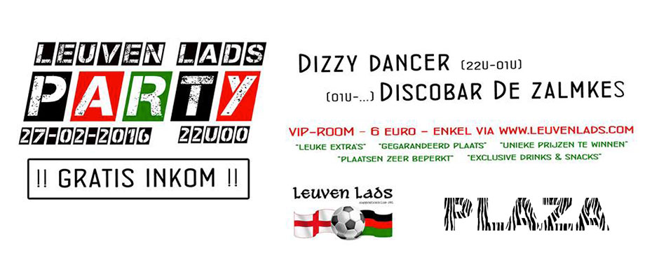 Leuven Lads @PLAZA